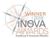 Winner 2019 iNOVA AWARDS - Excellence in Corporate Websites